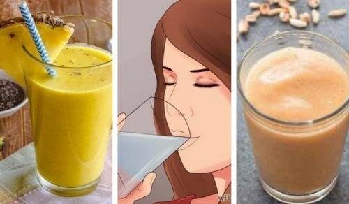 Proteine vegetali e fibre in 5 frullati