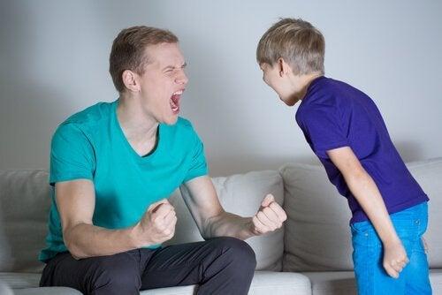 litigi con i figli