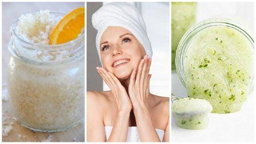 5 trattamenti naturali per esfoliare la pelle