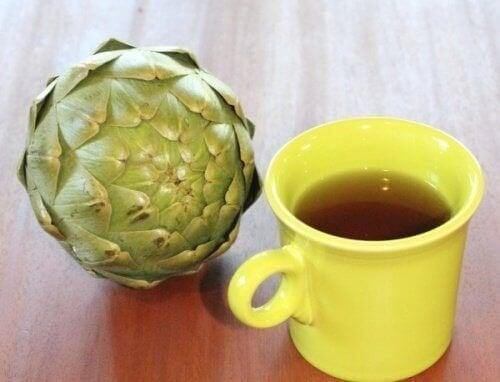 Acqua di carciofo e limone