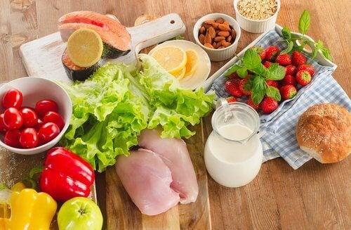 dieta per la flessibilità muscolare