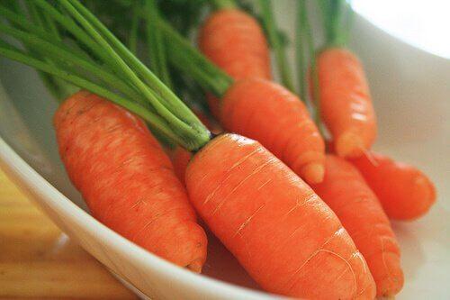 carote per contrastare l'invecchiamento