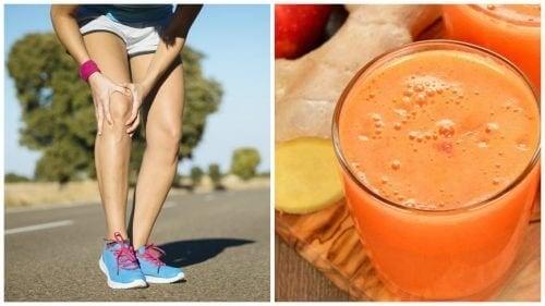 Rafforzare le ossa ed alleviare i dolori articolari con un frullato naturale