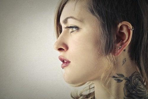 Orecchie piercing