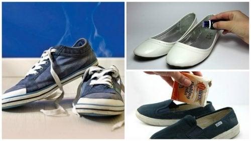 6 trucchi naturali contro il cattivo odore delle scarpe