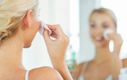 olio di argan pulizia pelle