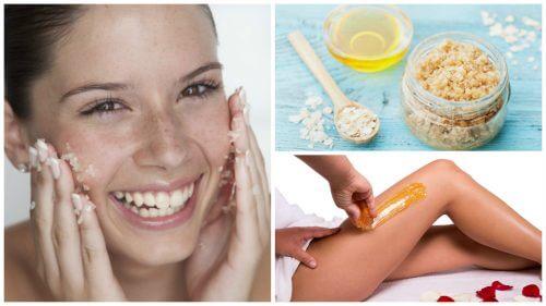 5 trattamenti di bellezza a base di zucchero per la pelle