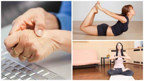 Tunnel carpale: 5 posizioni yoga per alleviarlo