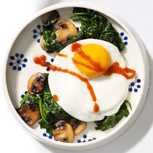 uova a stomaco vuoto