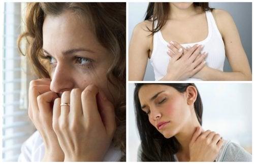 10 segnali fisici che riflettono uno stato d'ansia