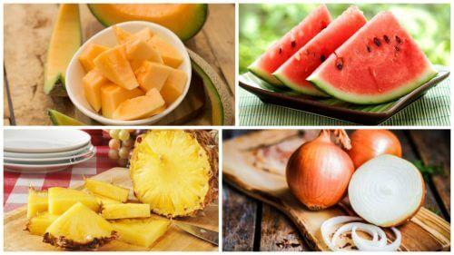 Alimenti diuretici da includere nella dieta