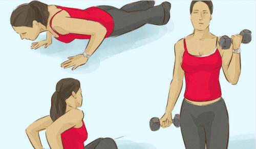 Esercizi per rassodare le braccia