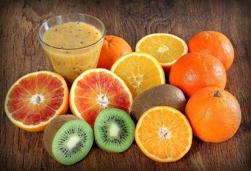 Frutti ricchi di vitamina C