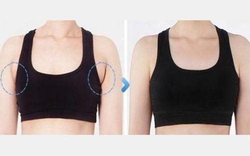 come perdere le braccia molto grassetta