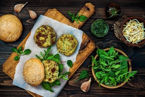 tavola verde la carne