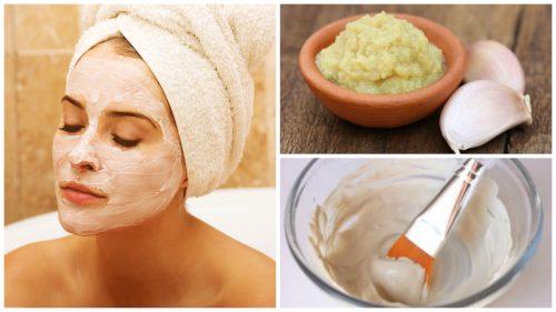 Maschera all'aglio per disintossicare e ringiovanire la pelle