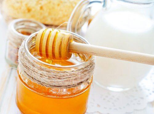 Maschera al miele