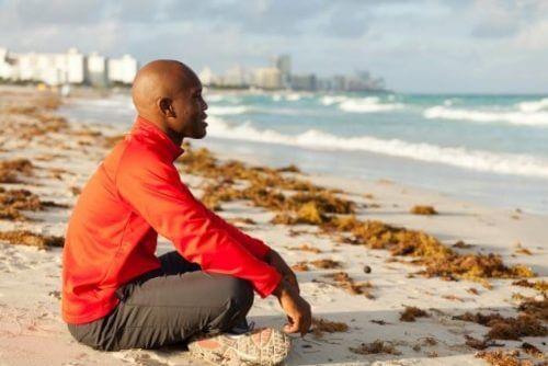 meditare al mare