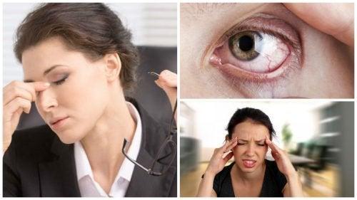 Stress visivo: 8 importanti sintomi