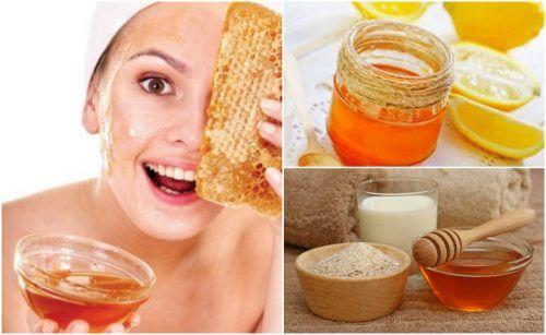 Maschere al miele per contrastare le rughe