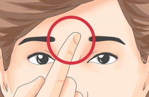 5 punti di digitopressione sul viso
