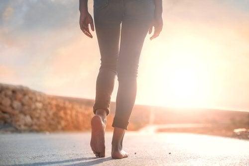 camminare è il modo più semplice di gestire l'ansia