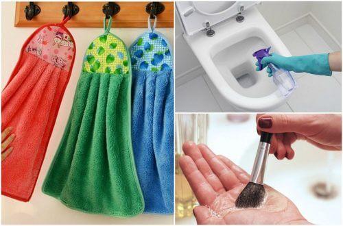 9 oggetti di uso quotidiano da lavare tutti i giorni
