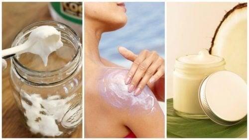 Proteggere la pelle dal sole con una crema naturale