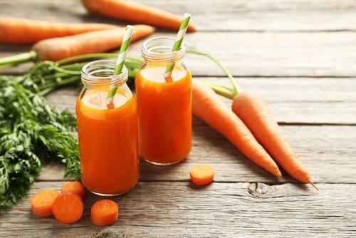 Succo di carota detox