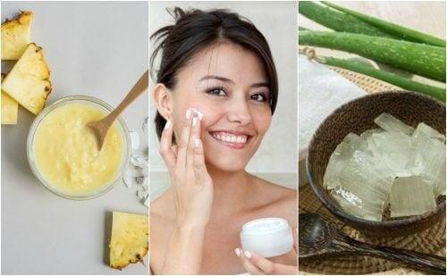 5 trattamenti naturali per rassodare la pelle del viso