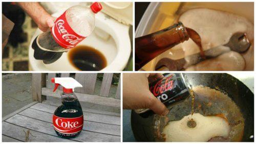 8 usi domestici della Coca Cola da conoscere