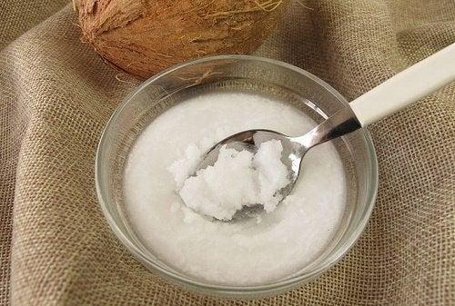 l'olio di cocco possiede proprietà antibiotiche