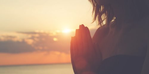 La meditazione al tramonto