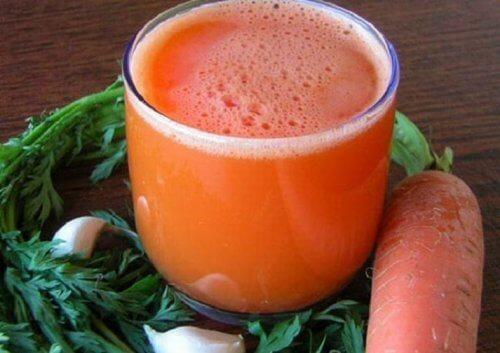 Frullato alla carota