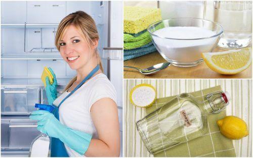 Pulire e disinfettare il frigorifero con 5 soluzioni naturali