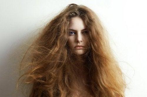 5 ingredienti naturali contro i capelli secchi