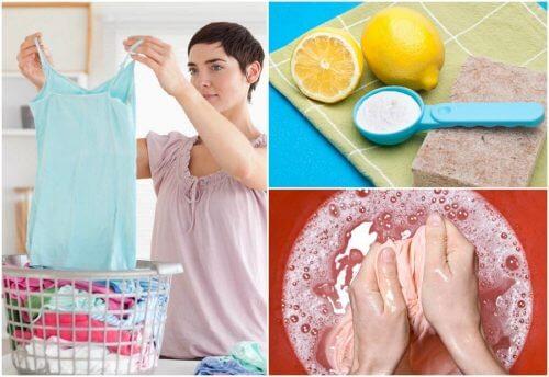 9 modi per rimuovere le macchie dai vestiti in assenza di prodotti specifici