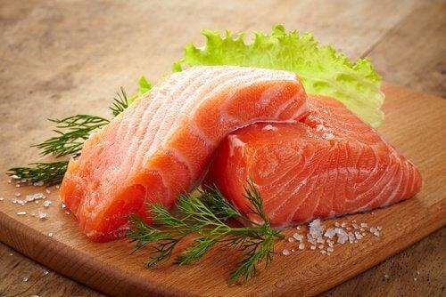 Salmone per ridurre l'infiammazione