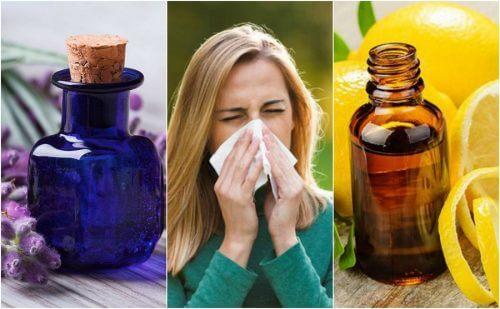 6 oli essenziali da usare in caso di allergia