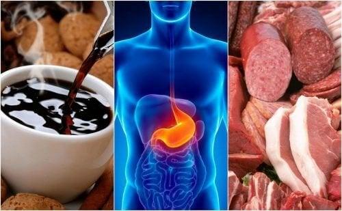 Reflusso acido, 8 alimenti che possono causarlo