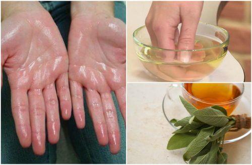 Iperidrosi palmare: 7 rimedi naturali per alleviarla