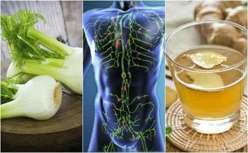 6 rimedi naturali per depurare il sistema linfatico