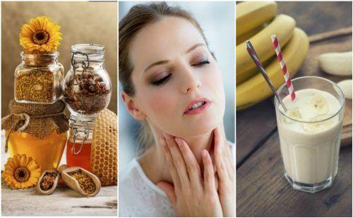 6 rimedi naturali in caso di gola secca