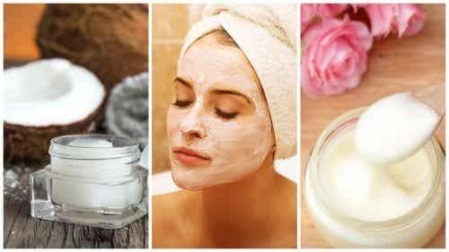 Maschere naturali contro le impurità del viso