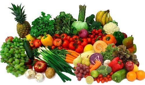 verdura fresca estratto