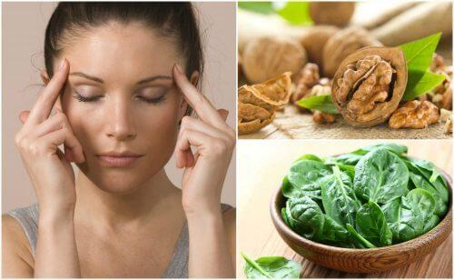 7 alimenti che aiutano a potenziare l'attività cerebrale
