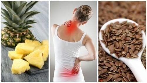 7 alimenti con cui ridurre l'infiammazione e il dolore