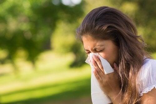 Allergie a causa del fegato pieno di tossine