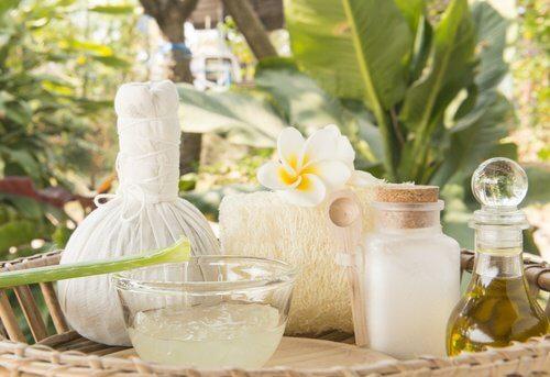 Crema aloe vera e olio di cocco contro le rughe sulle mani