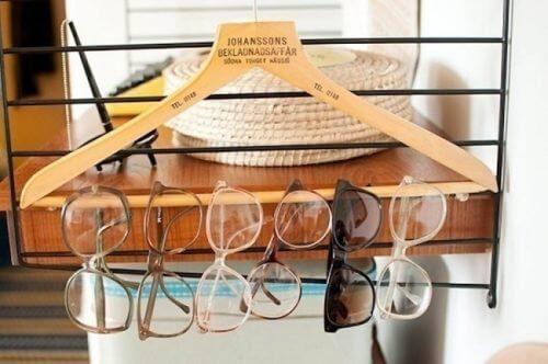 Fare ordine tra gli occhiali